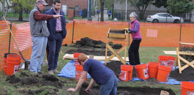 Digging up the history of a Civil War camp on Chicago's South Side