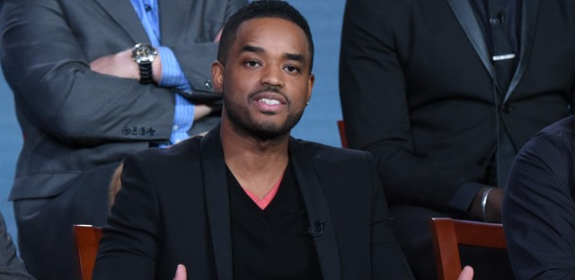 Larenz Tate, seen here in January 2016, plays a protagonist in 'Bronzeville,' a new podcast set in 1940s Chicago. Tate is also a co-director and co-executive producer of the program. (Photo by Richard Shotwell/Invision/AP)