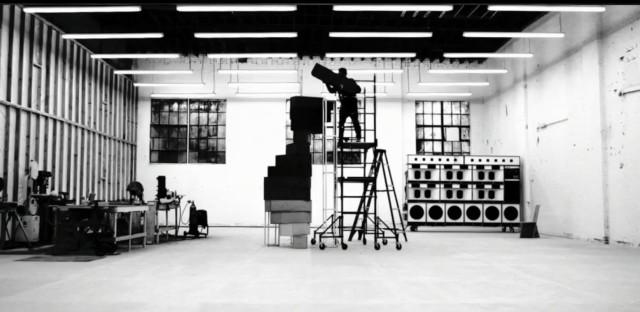 A still from Frank Ocean's Endless visual album.