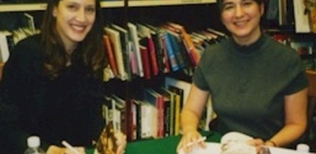 "Laura Kamedulski and Lori Grove, co-authors of ""Chicago's Maxwell Street"""