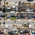 """Former homeowner Brian Burns, who now rents an apartment in Henderson, Nev., says he """"still sees a lot of empty houses"""" in Las Vegas, where about 20 percent of homeowners are still underwater in the wake of the housing crisis almost 10 years ago."""