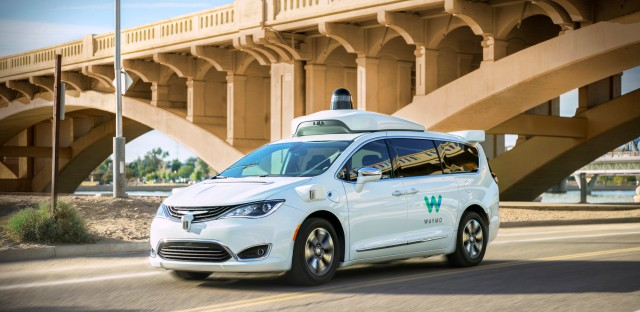 On Point with Tom Ashbrook : Uber, Lyft ... And Now Waymo: The Self-Driving Car Service Hits The Road Image