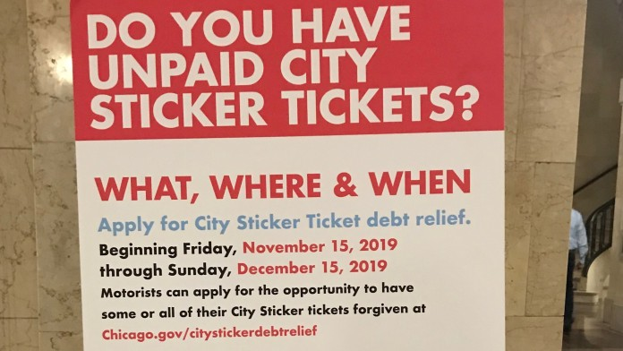 Chicago Drivers Have Until Dec. 15 To Get City Sticker Tickets Dropped
