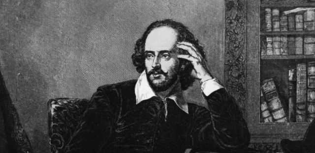 William Shakespeare, circa 1600.