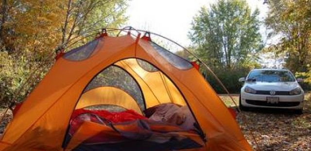 What we mean when we say we go camping