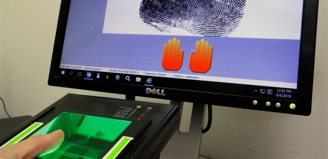 FBI fingerprinting background checks Springfield budget
