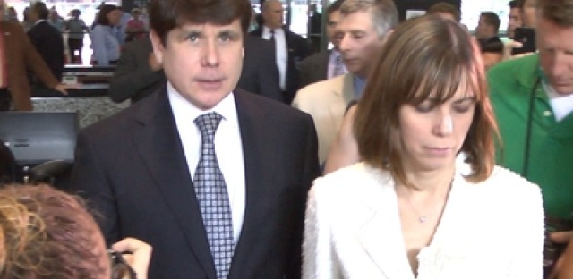CityRoom video: Inside the media pit at the Blagojevich verdict