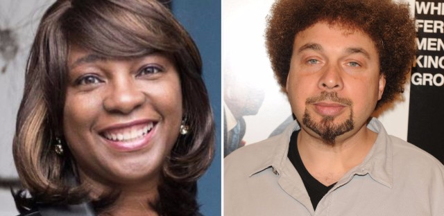 Nichelle Tramble Spellman (left) and her husband Malcolm Spellman are African American writers who are also executive producers on Confederate.