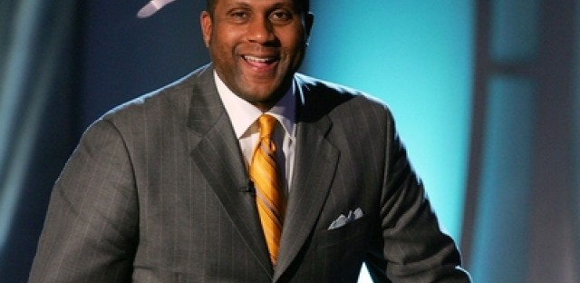 Tavis Smiley's new book is 'Fail up: 20 Lesson on Building Success from Failure'.