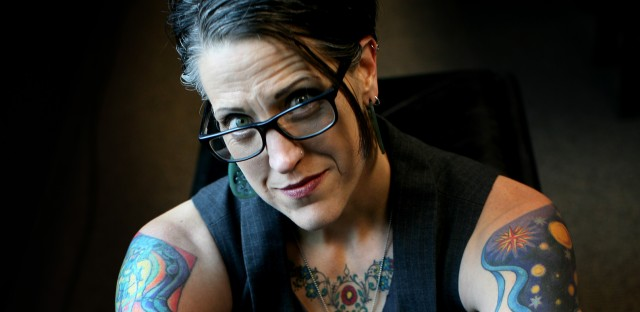 Lutheran Pastor Nadia Bolz-Weber says that all are welcome at her Denver church, The House for All Sinners and Saints.