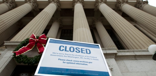 On Point with Tom Ashbrook : Where The Government Shutdown Is Hitting Americans The Hardest Image