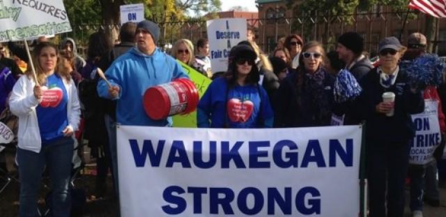 Waukegan school strike comes to an end