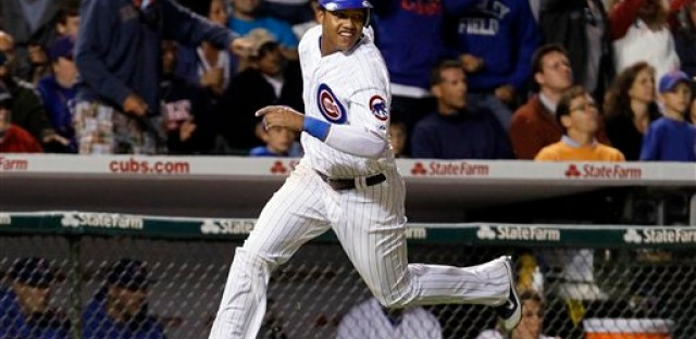 Cubs shortstop Starlin Castro makes his second appearance on the All-Star team.