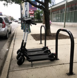 Within three days of its start on Saturday, June 15, 2019, Chicago's first e-scooter rental program logged more than 11,000 rides, according to city officials.