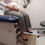 pregnant doctor visit