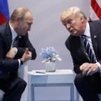 President Trump and Russian President Vladimir Putin