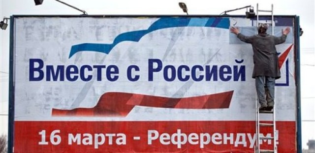 Crisis in Crimea heads towards referendum