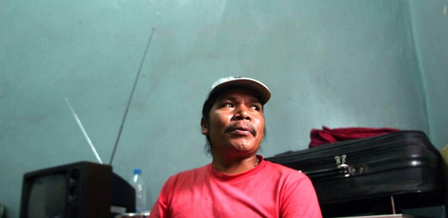 Anti-logging activist Isidro Baldenegro speaks to a reporter in prison in 2009. Baldenegro was murdered this month, making him the second winner of the Goldman Environmental Prize to be killed over a 12 month period.
