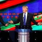 Trump And Rubio Argue