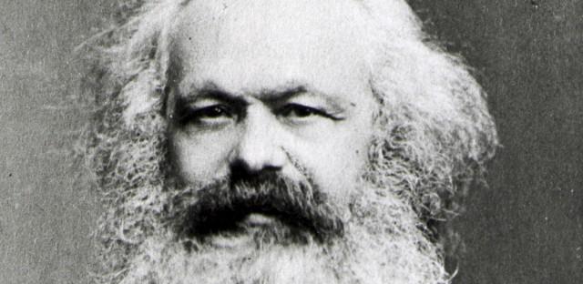 Portrait of Karl Marx, date unknown.