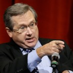 Republican U.S. Sen. Mark Kirk, answers questions during the first televised debate with Democratic U.S. Rep. Tammy Duckworth, in what's considered a crucial race that could determine which party controls the Senate, Thursday, Oct. 27, 2016, at the University of Illinois in Springfield, Ill.