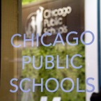 Chicago public schools window