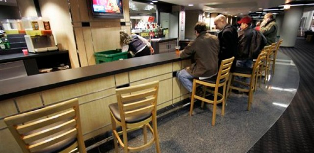 The UC bar stools may be empty at Blackhawks games for a while.