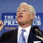 President Trump's personal attorney Marc Kasowitz speaks to members of the media at the National Press Club in Washington on Thursday about the testimony of former FBI Director James Comey.