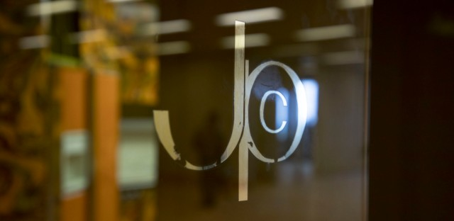 """The original Johnson Publishing Company logo. On Wednesday, the company's massive archive of """"Ebony"""" and """"Jet"""" magazine photos were sold to the J. Paul Getty Trust and a group of foundations."""