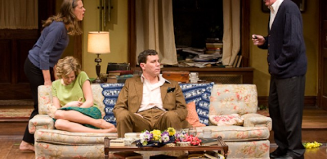 Steppenwolf's 'Who's Afraid of Virginia Woolf?' cast: Amy Morton, Carrie Coon, Madison Dirks and Tracy Letts.