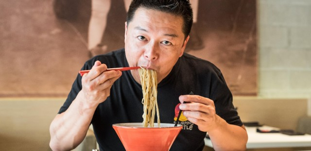 Chef Tadashi Nagura, chef of the Slurping Turtle in Chicago's River North neighborhood