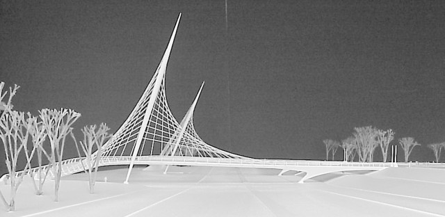 The mayor, the architect and the bridge that was not to be