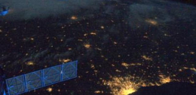 Space photos of Chicago offer peek at the sublime