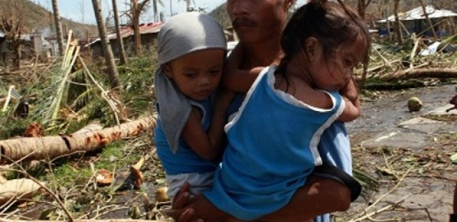 Getting aid to children impacted by Typhoon Haiyan