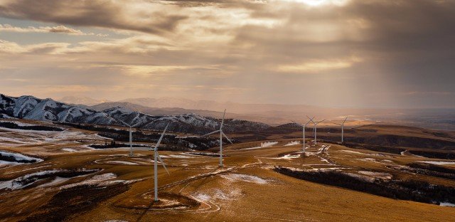 Idaho Windmills Sustainability