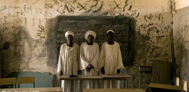 'Darfur/Darfur' is just one of many Art Works Project's exhibits addressing humanitarian crises in Africa.