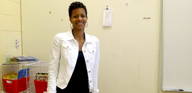 Taree Porter teaches second grade. She's noticed the decline of black teachers in CPS.