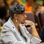 Ald. Carrie Austin, 34th Ward, attends a City Council meeting on June 12, 2019.