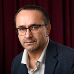 Andrey Zvyagintsev poses for a portrait at the 90th Academy Awards Nominees Luncheon at The Beverly Hilton hotel on Monday, Feb. 5, 2018, in Beverly Hills, Calif.