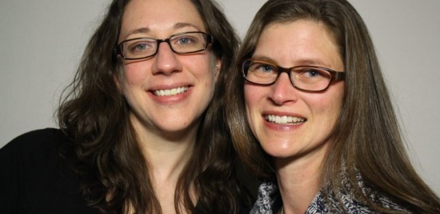Friends Julie Knausenberger and Karen Williams interviewed each other at the Chicago StoryCorps Booth.