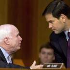 Marco Rubio and John McCain