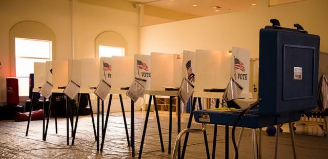 Polling station (Stephen Velasco/Flickr)