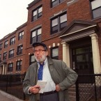 Nat Hentoff, a writer for The Village Voice for 50 years, died in January. (Pat Greenhouse/The Boston Globe via Getty Images)