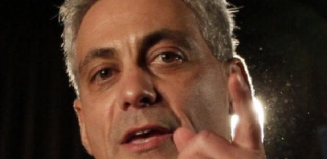 Rahm Emanuel Celebrates Being Elected Chicago's Mayor