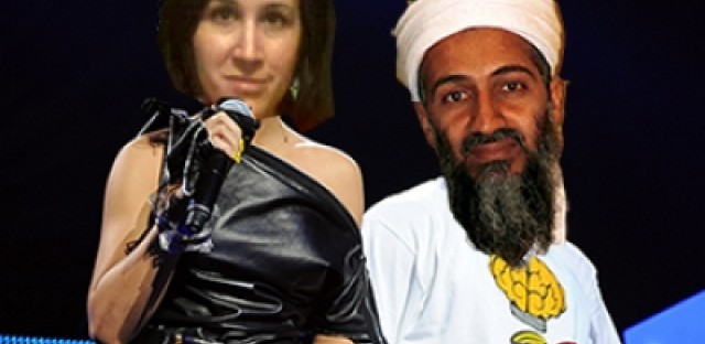 Announcing my duet with the reanimated corpse of Osama bin Laden
