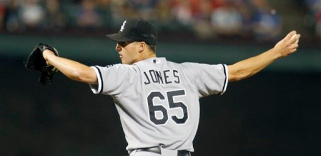 White Sox reliever Nate Jones