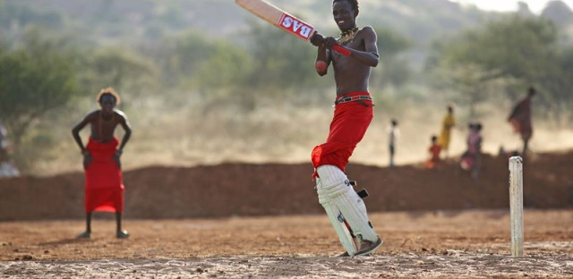 The Real Goal for These Cricket-Crazy Maasai Men? Ending 'The Cut'