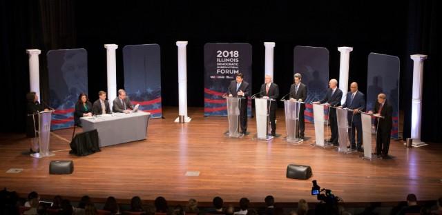 Illinois Democratic Governor Race Forum