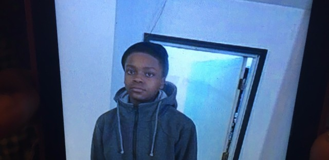 15-year-old Fabien Lavinder was shot to death blocks from his home on S. Muskegon in Chicago.