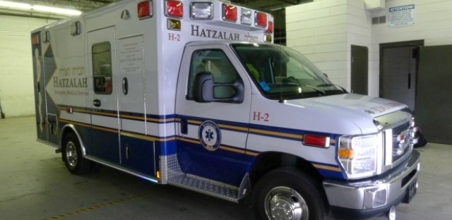 Hatzalah Chicago has purchased two ambulances with donor money. Its volunteer staff are trained to respond to low-level medical emergencies.